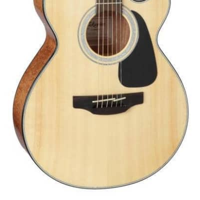 Takamine GF30CE-NAT FXC Cutaway Acoustic-Electric Guitar, Natural, GF30CENAT