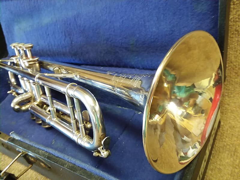 Antoine Courtois Circa '54 Vintage Professional Bb/C Trumpet In Excellent  Condition