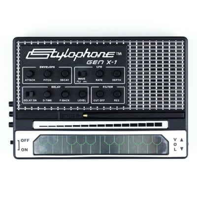 Dubreq Stylophone GEN X-1 Portable Analog Synthesizer