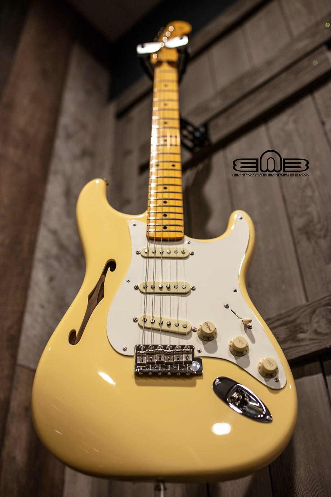 Fender 0113602741 ERIC JOHNSON SIGNATURE STRATOCASTER® THINLINE - Ships FREE Lower 48 States!
