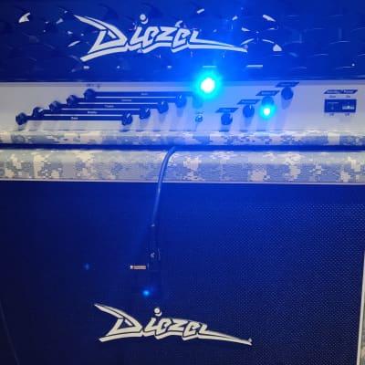 Diezel VH2 head Custom Tolex Digital Camo for sale