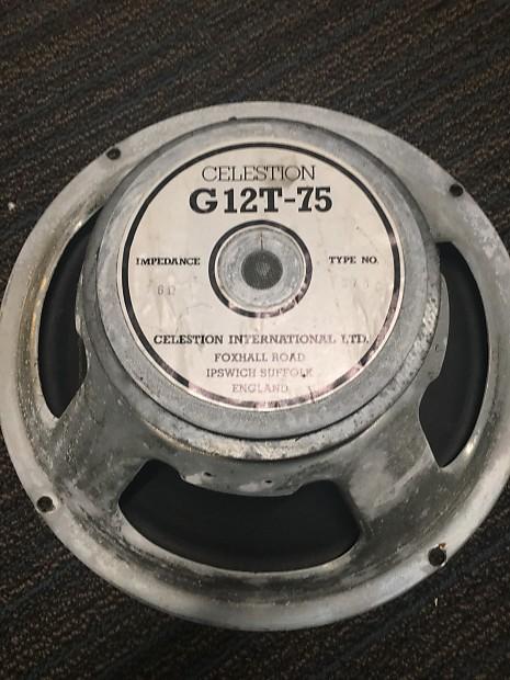 celestion g12t 75