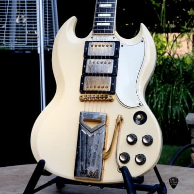 1961 Gibson  SG Les Paul Custom, Polaris White