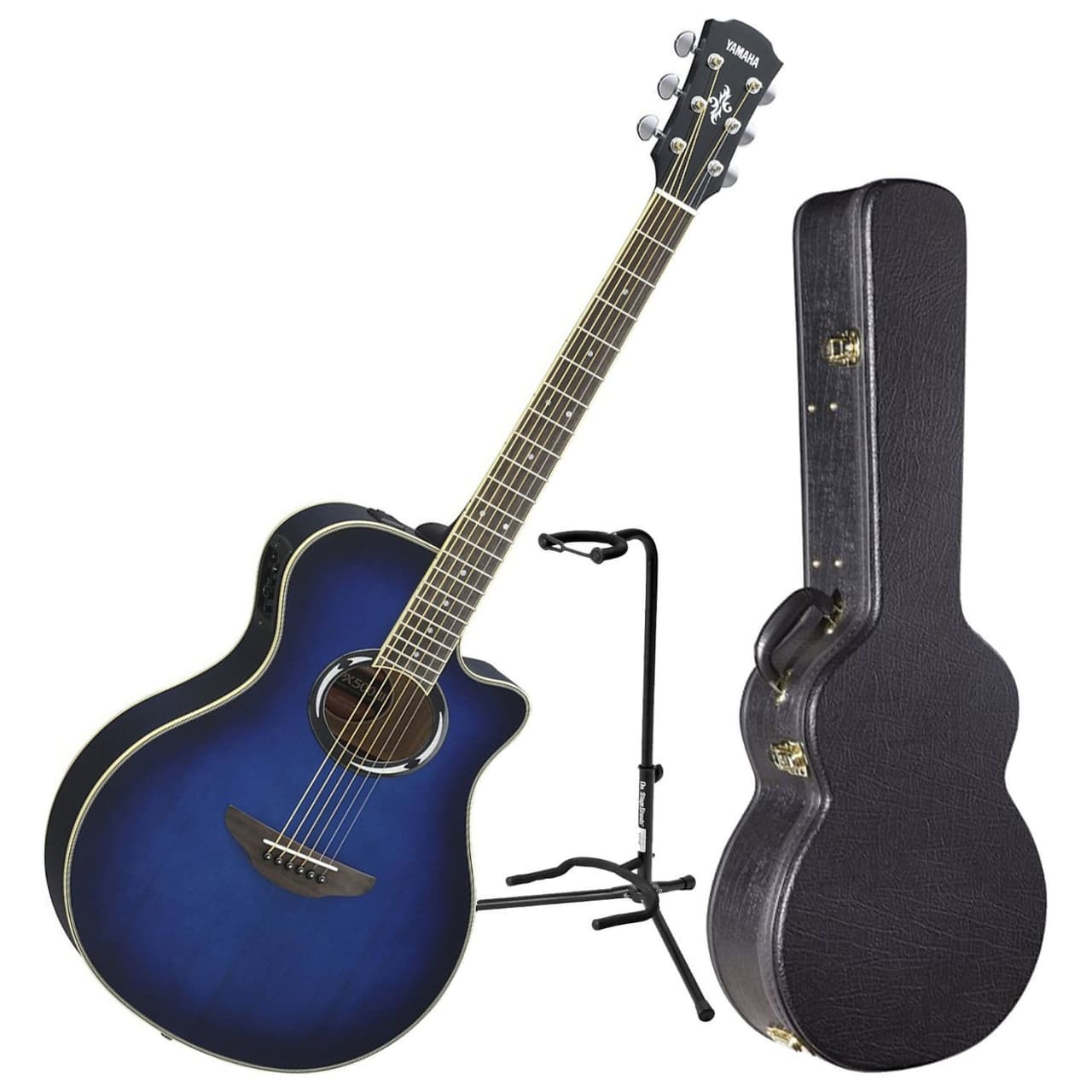 Yamaha apx500iii obb acoustic electric guitar bundle reverb for New yamaha acoustic guitars