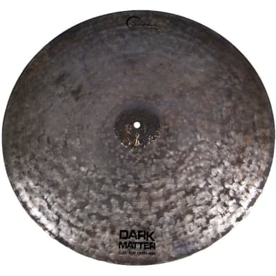 "Dream Cymbals Dark Matter 22"" Flat Earth Ride Cymbal"