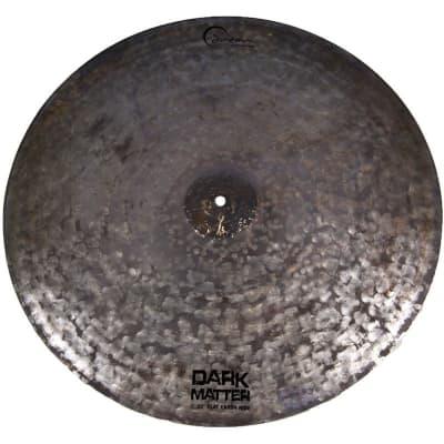 "Dream Cymbals Dark Matter 22"" Flat Earth Ride Cymbal"