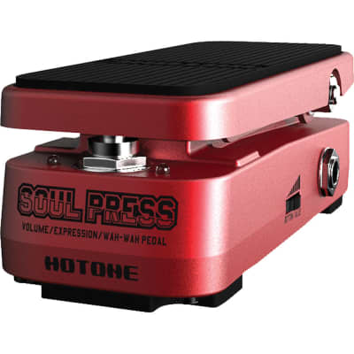 Open Box Hotone Soul Press Wah; Excellent Condition for sale