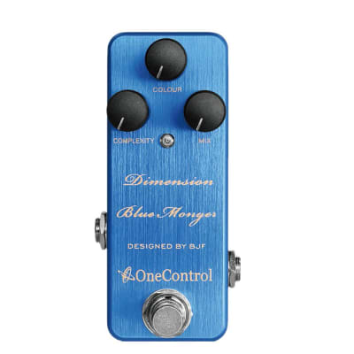 One Control Effects Dimension Blue Monger Modulation Guitar Effect Pedal for sale