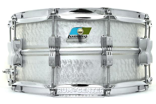 ludwig acrolite snare drum 14x6 5 hammered reverb. Black Bedroom Furniture Sets. Home Design Ideas
