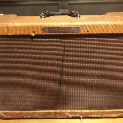 Fender  Twin High Powered Twin , Ex Rory Gallagher  1955 Tweed