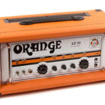 Orange AD50 Custom Shop Head 2010s Orange image