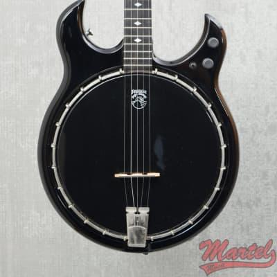 Used Deering Crossfire 5 String Banjo, Black for sale