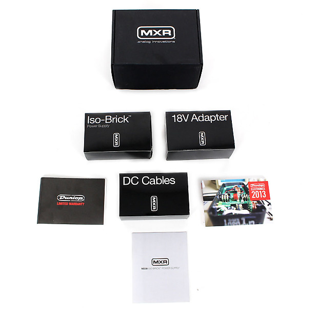 brand new mxr m238 iso brick power supply cream city music reverb. Black Bedroom Furniture Sets. Home Design Ideas