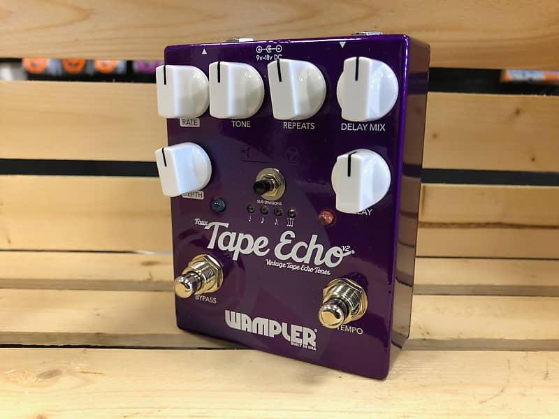 wampler faux tape echo v2 pedal music depot reverb. Black Bedroom Furniture Sets. Home Design Ideas