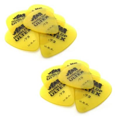 Dunlop Guitar Picks  12 Pack  Ultex Standard  .73mm  421P