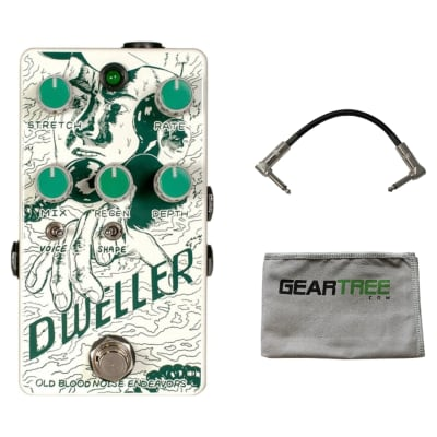 Old Blood Noise Endeavors Dweller Phase Repeater Effect Pedal w/ Cable and Polish Cloth