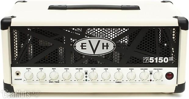 evh 5150 iii 50 watt tube head ivory gearnuts reverb. Black Bedroom Furniture Sets. Home Design Ideas
