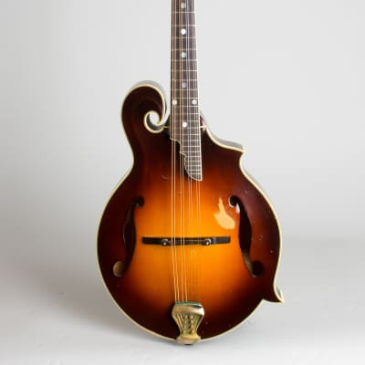 Monteleone  Grand Artist Carved Top Mandolin (1982), ser. #76, original black hard shell case. for sale