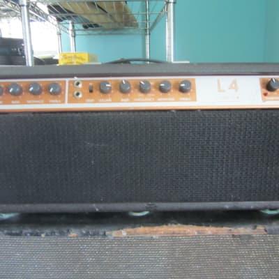 Lab Series Lab Series L4   200 Watt Bass Amp w/ Compressor 1978