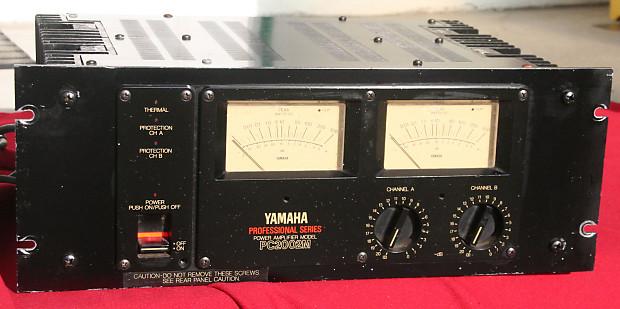 yamaha pc2002m power amplifier amp 1980 39 s p 2200 reverb. Black Bedroom Furniture Sets. Home Design Ideas