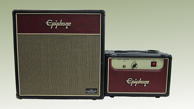 Epiphone Valve Jr Head & 112 Ext. Cabinet | Reverb