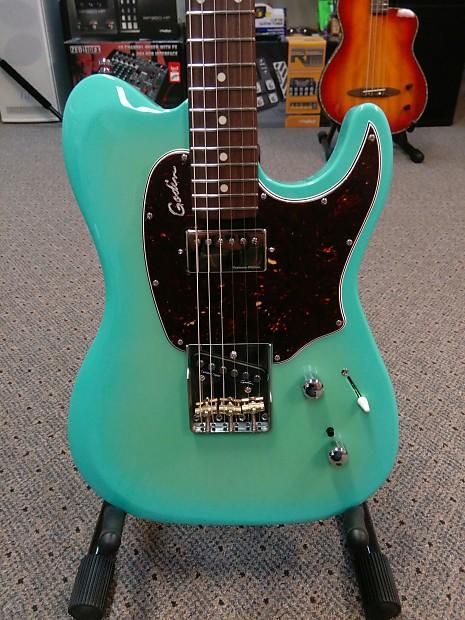 godin session custom t 59 coral blue guitars on main reverb. Black Bedroom Furniture Sets. Home Design Ideas