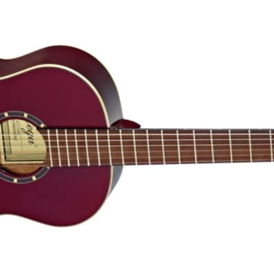 Ortega Family Series Gloss 7/8 Size Red Acoustic Guitar Spruce for sale