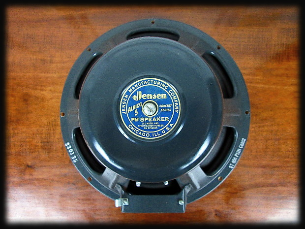 vintage jensen p12n 1951 teal blue alnico guitar speaker for reverb. Black Bedroom Furniture Sets. Home Design Ideas