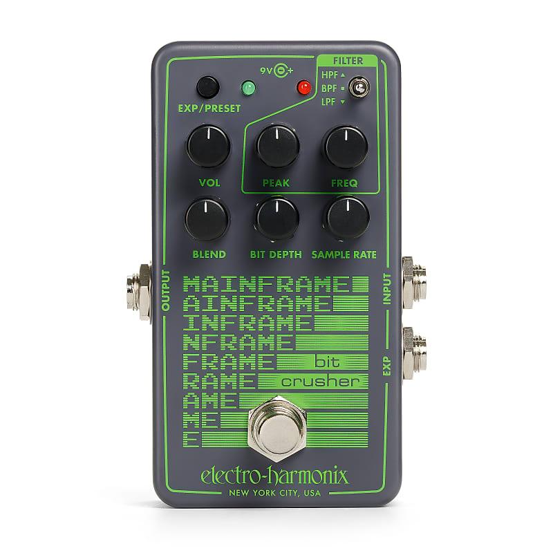 Electro-Harmonix EHX Mainframe Bit Crusher Effects Pedal