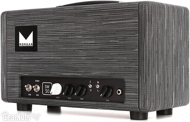 morgan amps sw50 50 watt high headroom tube head twilight reverb. Black Bedroom Furniture Sets. Home Design Ideas