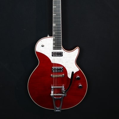 TV Jones Spectra Sonic Supreme from 2011 in cherry red with original hardshell case for sale