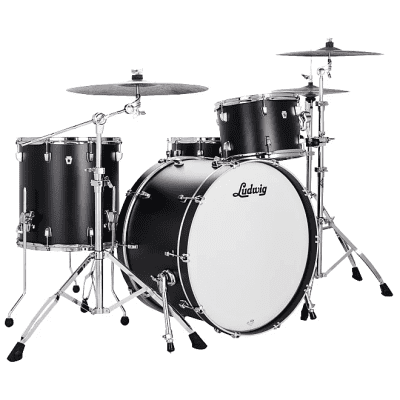 "LN24433TX3R NeuSonic Pro Beat Outfit 9x13/16x16/14x24"" Drum Set"