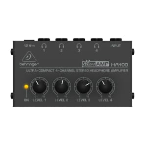 Behringer MicroAMP HA400 4-Channel Headphone Amplifier