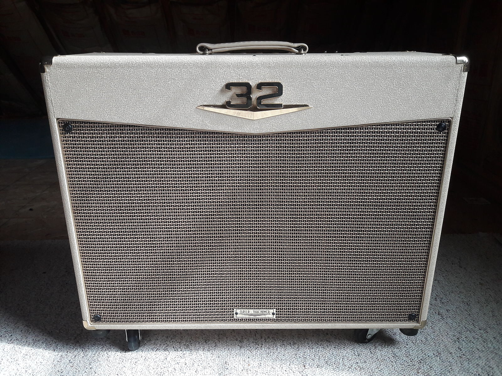 Crate Palomino V32 30 Watt Tube Guitar Combo Amp Reverb Tinela Handbag Mud