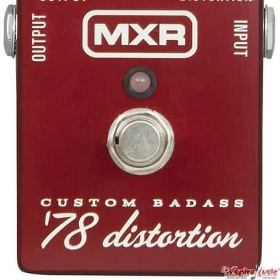 MXR M78 Custom Badass Distortion '78 Guitar Pedal