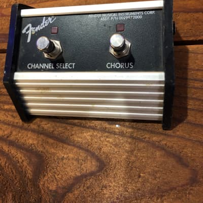 (7218) Fender 0029972000 Fender Chorus Effects and Channel Selector Pedal for sale