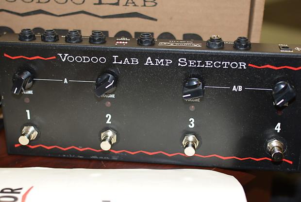 voodoo labs amp selector pedal reverb. Black Bedroom Furniture Sets. Home Design Ideas