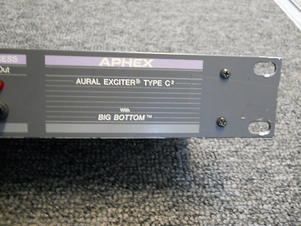Aphex big bottom aural exciter