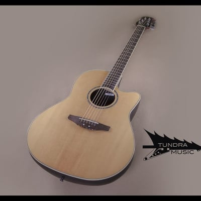 Ovation CC24 Celebrity Cutaway Acoustic-Electric - Natural (691) for sale