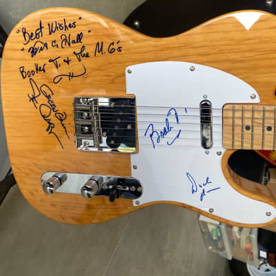 Booker G & the MGs signed