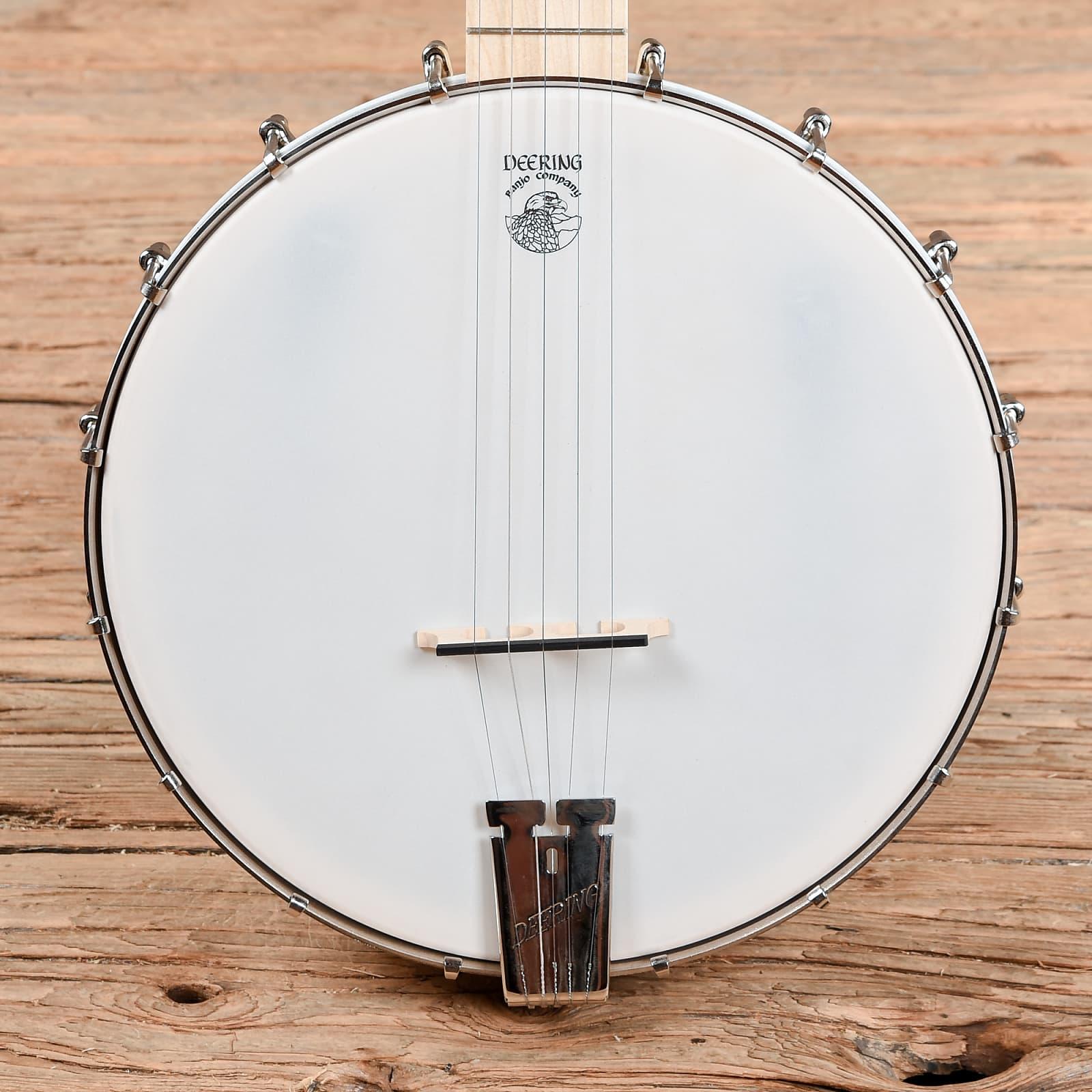 deering goodtime 5 string openback banjo used. Black Bedroom Furniture Sets. Home Design Ideas