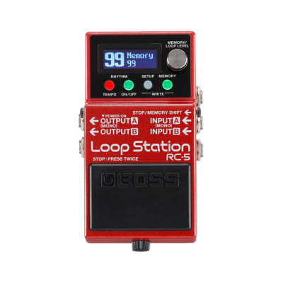Boss RC-5 Advanced Compact Loop Station Pedal