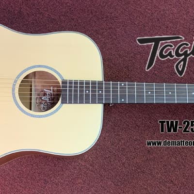 Tagima TW-25NS Dreadnought Acoustic Guitar Natural Satin for sale