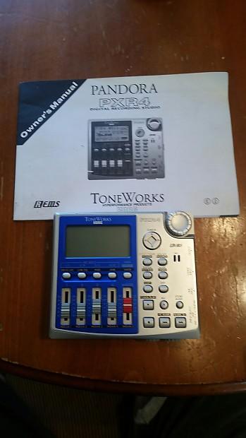 Korg toneworks pandora pxr4 4-track recorder manual box smartmedia.