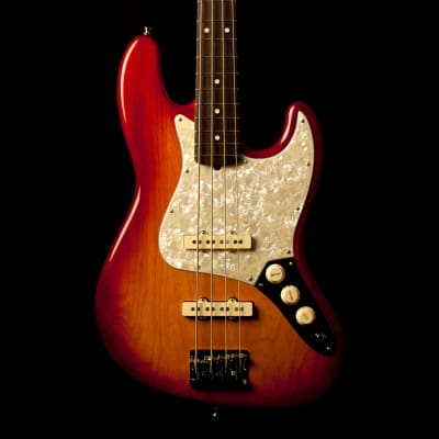 Fender Jazz Bass American Professional Light Ash Sienna Sunburst for sale