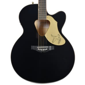 Gretsch G5022CBFE Rancher Falcon Acoustic Electric Jumbo Cutaway Black for sale