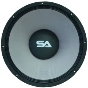 """Seismic Audio New Madrid 18"""" 750w 8 Ohm Aluminum Frame Driver Replacement Subwoofer Speaker"""