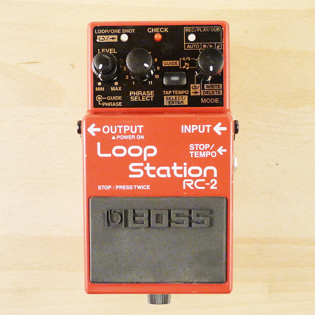 Boss rc-2 loop station pedal. Excellent condition | ebay.