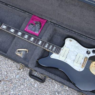 Fender Jazzmaster  Limited The Ventures RARE 1996 black transparent for sale