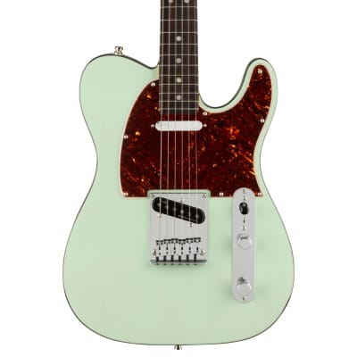 Fender American Ultra Luxe Telecaster Transparent Surf Green Pre-Order